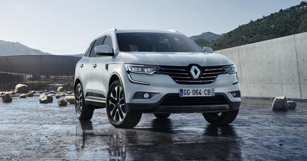 Renault officialise le nouveau Koleos