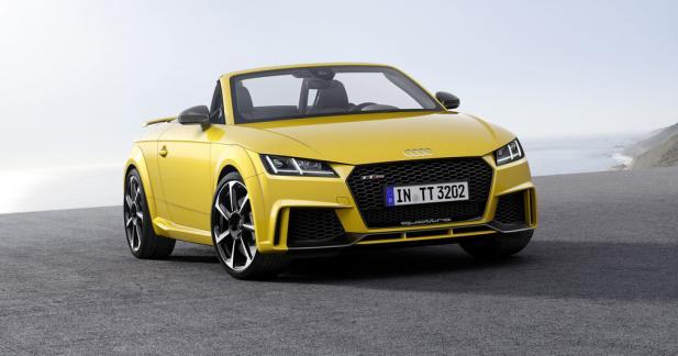 Nouvelle Audi TT RS : 400 ch pour le 5-cylindres