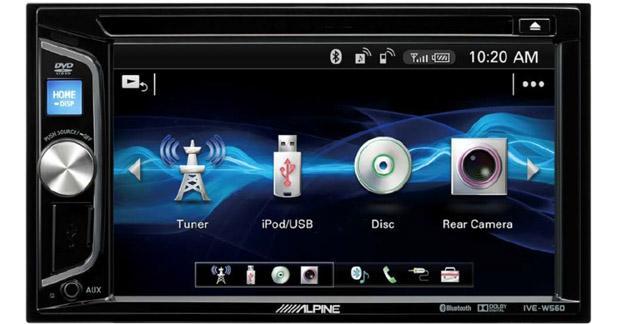 Alpine dévoile une nouvelle station multimédia dédiée à la vidéo embarquée