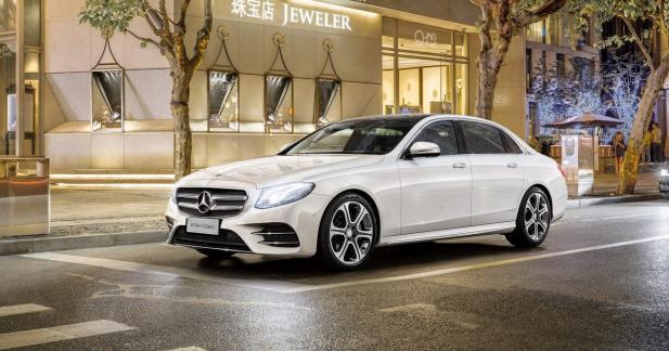 Mercedes allonge la Classe E pour la Chine
