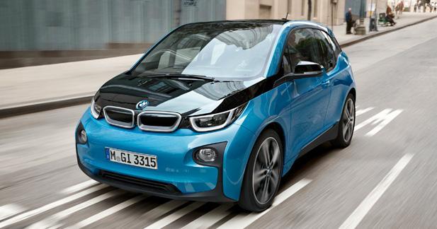 BMW i394 Ah : de 190 km à 300 km d'autonomie