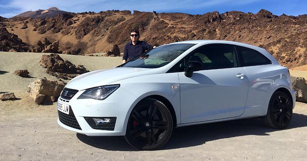 Essai SEAT Ibiza Cupra : GTI à la carte