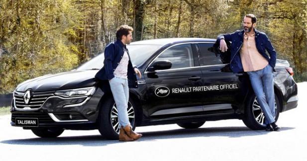 La Renault Talisman à l'honneur du Festival de Cannes 2016