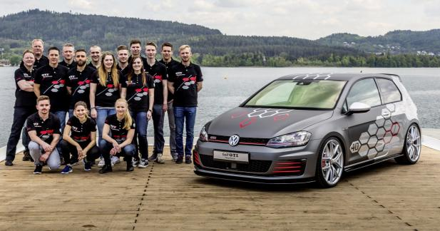 Volkswagen Golf GTI Heartbeat : 400 ch pour le Wörthersee