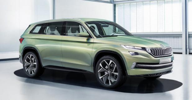 Skoda officialise l'appellation Kodiaq pour son premier SUV