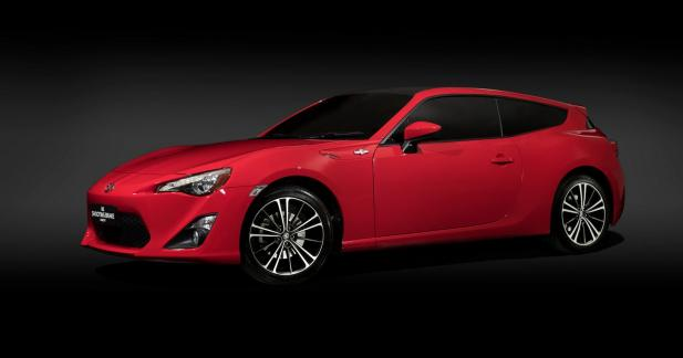 Toyota crée la GT86 Shooting Brake