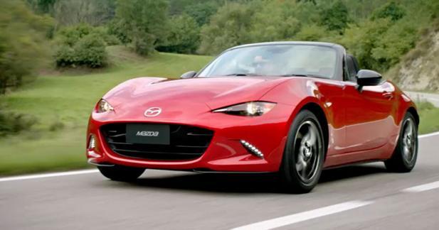 Mazda offre à ses employés français une MX-5 pour 6 mois