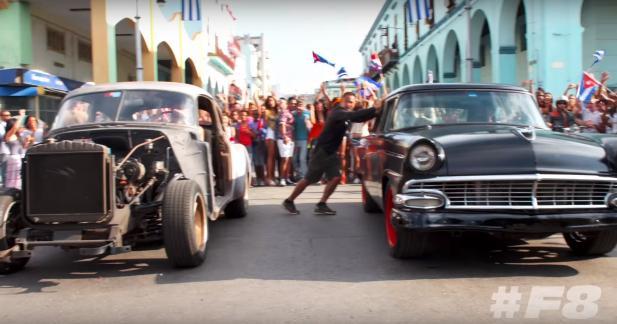 Premières images de Fast & Furious 8 à Cuba