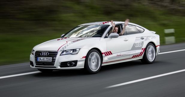 L'Audi A7 autonome adopte des réflexes humains