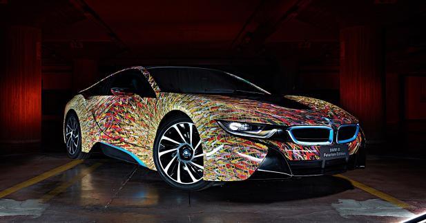La BMW i8 fait des étincelles grâce à la Futurism Edition