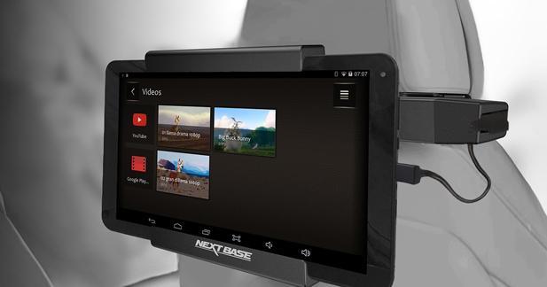 NextBase présente un système vidéo Android pour les passagers arrière