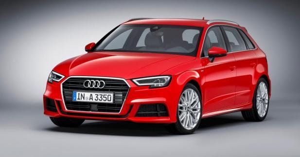 Audi A3 restylée : à partir de 24 400 euros