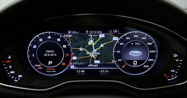 Le Virtual Cockpit en option à 550 euros