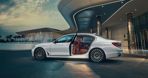 BMW 750Li xDrive Solitaire et Master Class : aussi exclusives qu'une Rolls