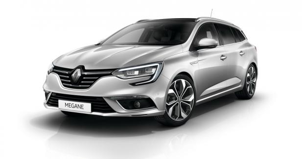 Nouvelle Renault Mégane Estate : à partir de 19 900 euros