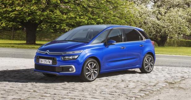 Citroën C4 Picasso restylé : à partir de 24 950 euros