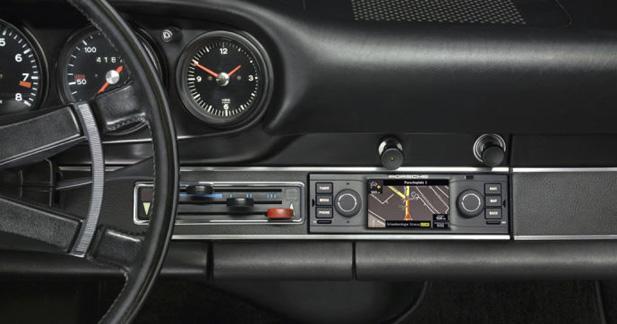 Un autoradio GPS pour les Porsche 911 de collection