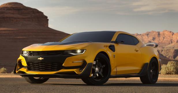 La Chevrolet Camaro 2016 très bodybuildée pour Transformers 5