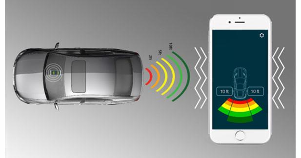 FenSens présente un radar de stationnement sur Smartphone