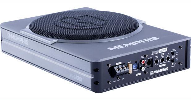 Un caisson de grave puissant et très compact chez Memphis Car Audio