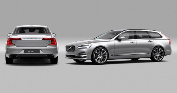 Polestar s'attaque aux Volvo S90 et V90