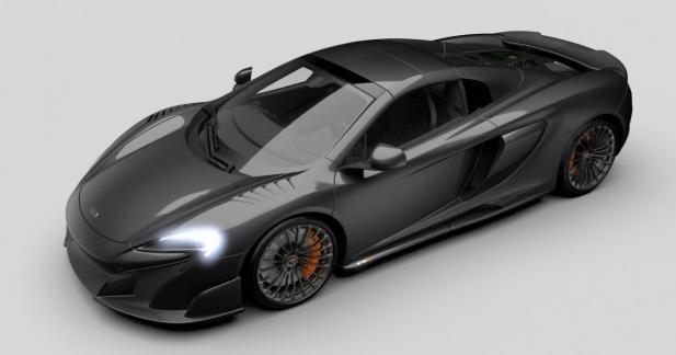 La McLaren 675LT reçoit une série limitée 100% carbone