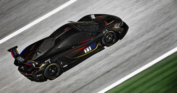 Une McLaren P1 GTR en hommage à James Hunt au festival de Goodwood