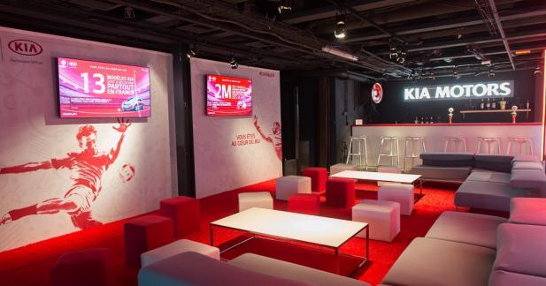 Kia est au cœur des matchs de l'Euro grâce à la Kia Arena