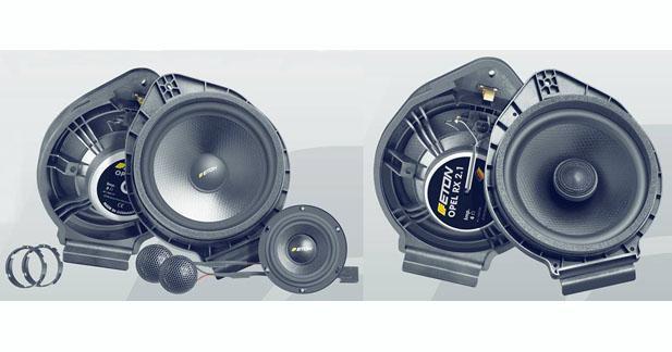 Eton présente des kits haut-parleurs spécifiques pour Opel