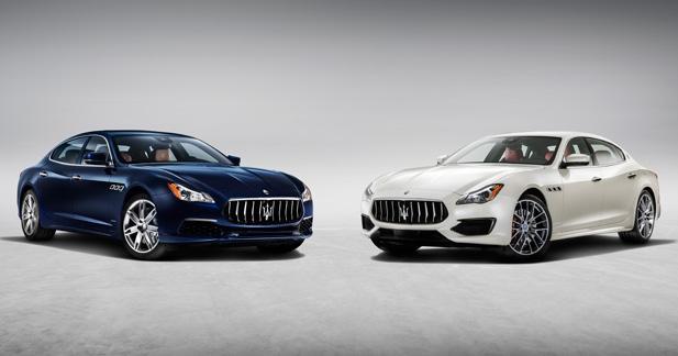 Maserati Quattroporte: plus qu'un restylage