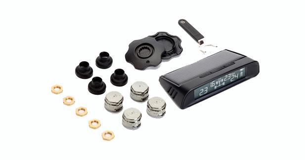 Phonocar propose un système de surveillance de la pression des pneus