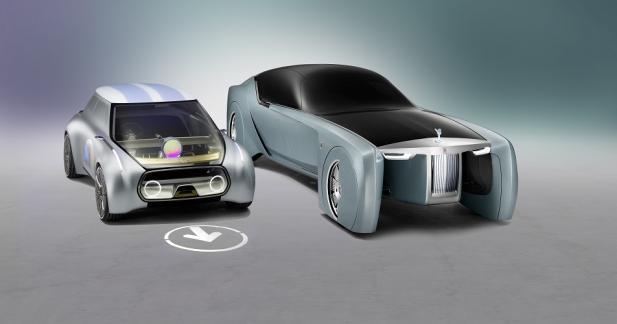 Rolls-Royce et Mini présentent leur vision du futur