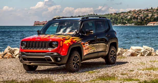 Jeep et Harley Davidson dévoilent le Renegade Hell's Revenge