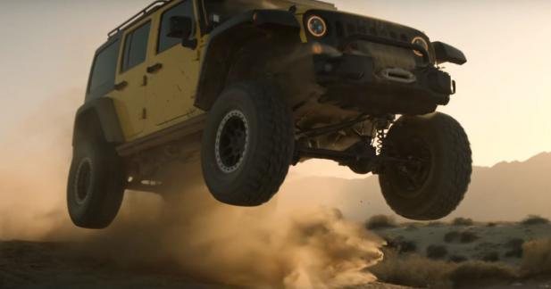Embarquez pour une virée très musclée dans le désert