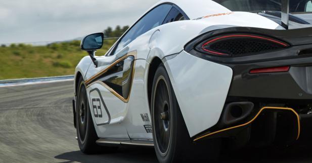 McLaren 570S : une version radicale à Goodwood
