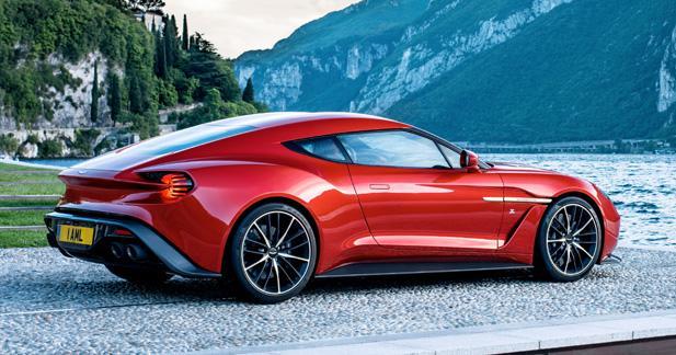 Aston Martin Vanquish Zagato: 99 exemplaires seulement