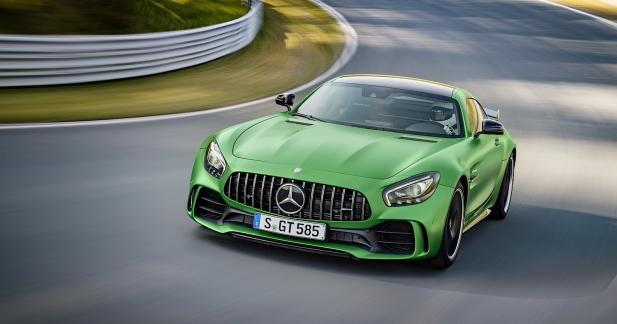 Mercedes-AMG GT-R : l'épouvantail du Nürburgring
