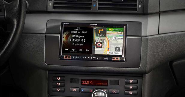 Alpine propose un combiné multimédia spécifiquement conçu pour les BMW E46
