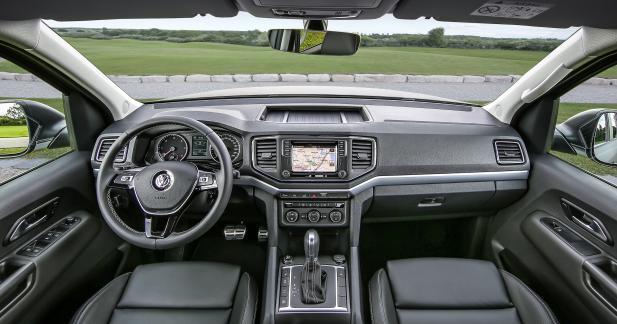 Habitacle à l'ergonomie VW