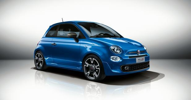 Fiat 500S restylée : à partir de 14 990 euros