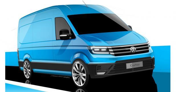 Volkswagen laisse entrevoir son futur Crafter