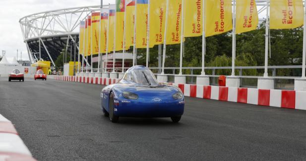 Shell Eco-marathon 2016 : 2 600 km avec un litre de carburant, c'est possible