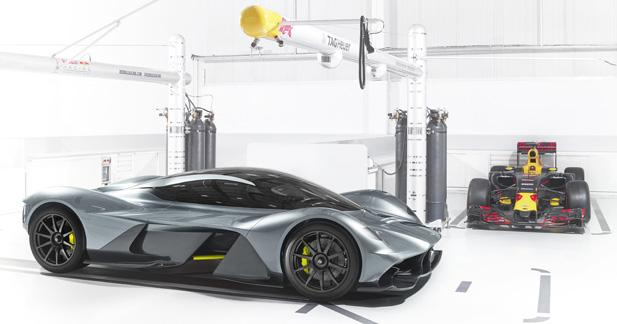 Aston Martin AM-RB 001: dessinée comme une F1