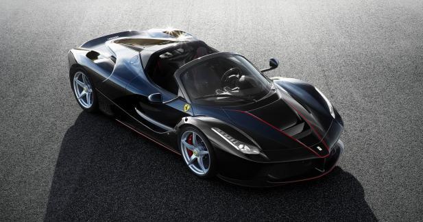 Premières photos officielles pour la Ferrari LaFerrari Spider