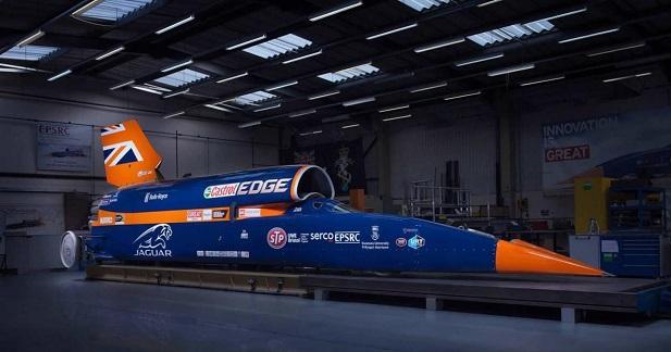 Bloodhound SSC : rendez-vous en octobre 2017 pour le nouveau record de vitesse terrestre