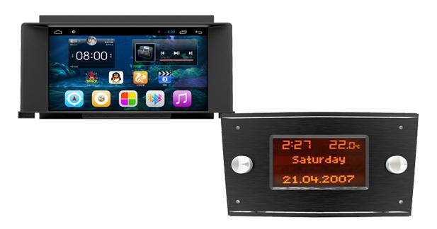 Un système multimédia Android astucieux pour les Opel Astra H