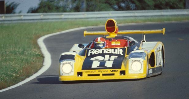 Alpine en force au Mans Classic