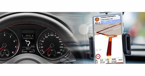 Paser dévoile un module pour diffuser le GPS d'un Smartphone dans une Volkswagen
