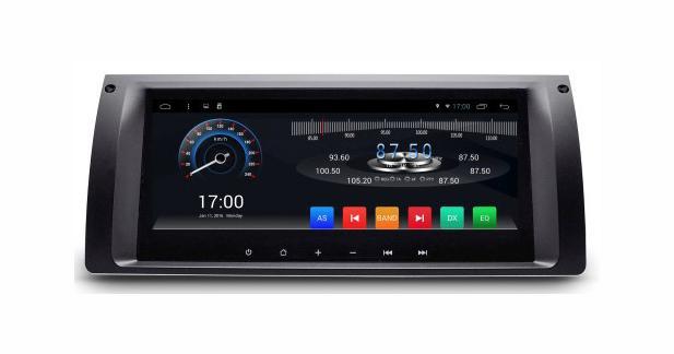 Un combiné multimédia Android entièrement tactile pour les BMW E39