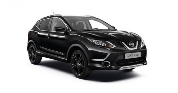 Nissan Qashqai Black Edition : le plus exclusif des Qashqai